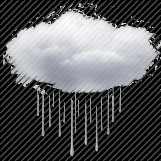 cloud, clouds, cloudy, drops, rain, weather icon - PNG Rain Cloud