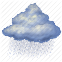 cloud, clouds, cloudy, forecast, night, rain, weather icon - PNG Rain Cloud