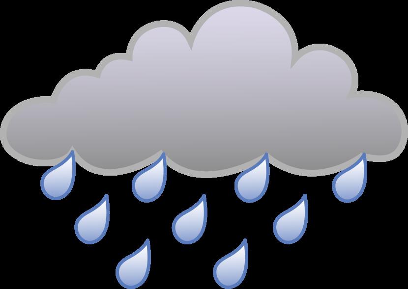 Rain cloud clipart 7 - PNG Rain Cloud