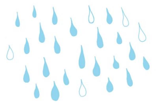 PNG: small · medium · large - PNG Raindrops