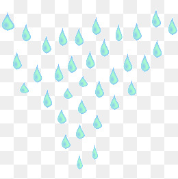 Raindrops decorative effect, Raindrop, Decoration, Effect PNG Image - PNG Raindrops