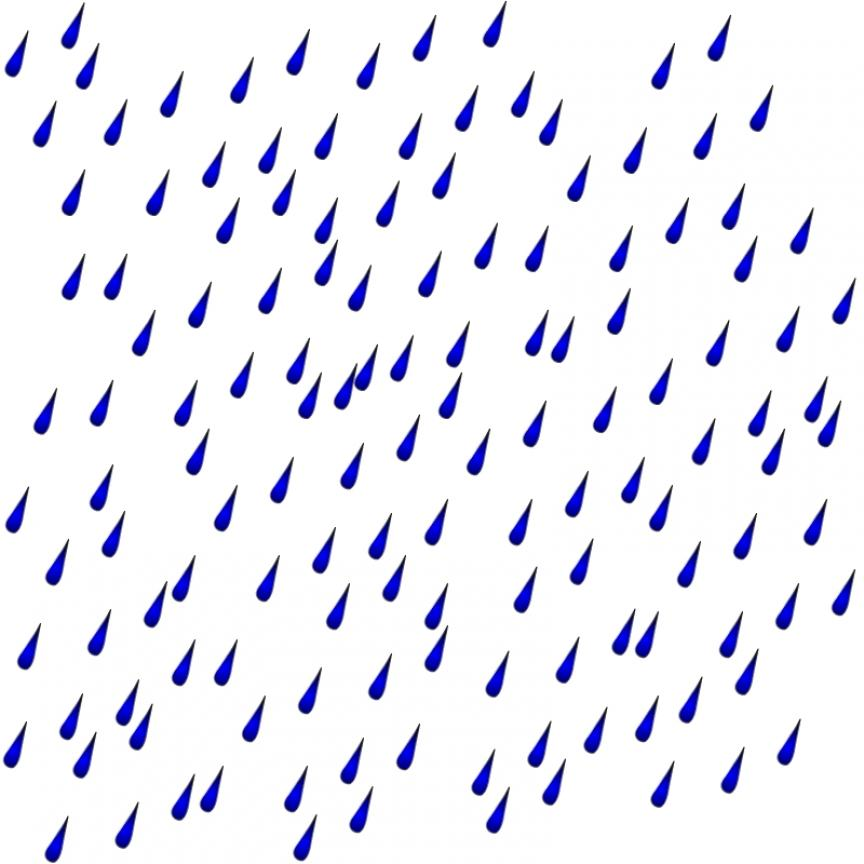 Rain Clipart - PNG Rainy