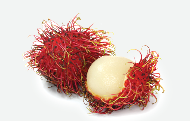 Fresh rambutans have a bright red exterior and the spikes can be light  green. The shelf life is just about one week after arrival, so make sure  the pulp is PlusPng.com  - PNG Rambutan