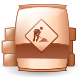 barrel, material, raw, under construction icon - PNG Raw Materials