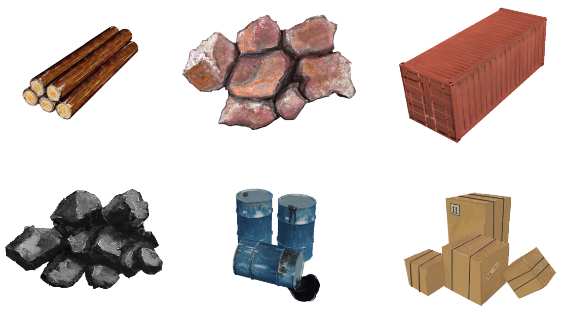 cargo - PNG Raw Materials