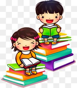 PNG Reading Children - 75464