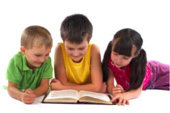 Children Reading - PNG Reading Children