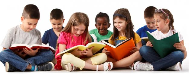 PNG Reading Children - 75461