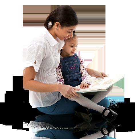kids, ECRR, parents, reading, caregivers, grandparents, literacy, books, - PNG Reading Children