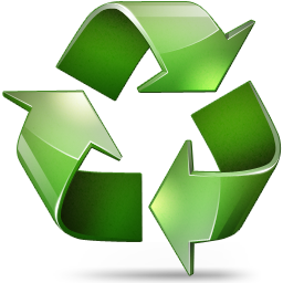 Recycle Icon 256x256 png - PNG Recycle