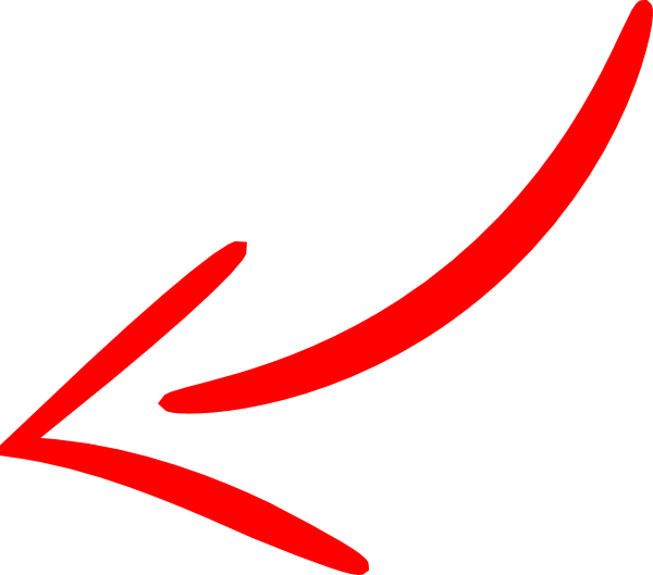 PNG: Small · Medium · Large - PNG Red Arrow