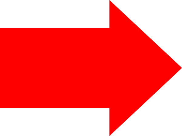 Red Right Arrow Clip Art At Clker Pluspng.com - Vector Clip Art Online, Royalty  Free U0026 Public Domain - PNG Red Arrow
