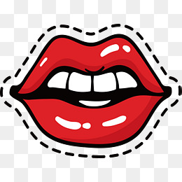 Red lips, Vector Png, Red Lips, Sexy Red Lips PNG and Vector - PNG Red Lips