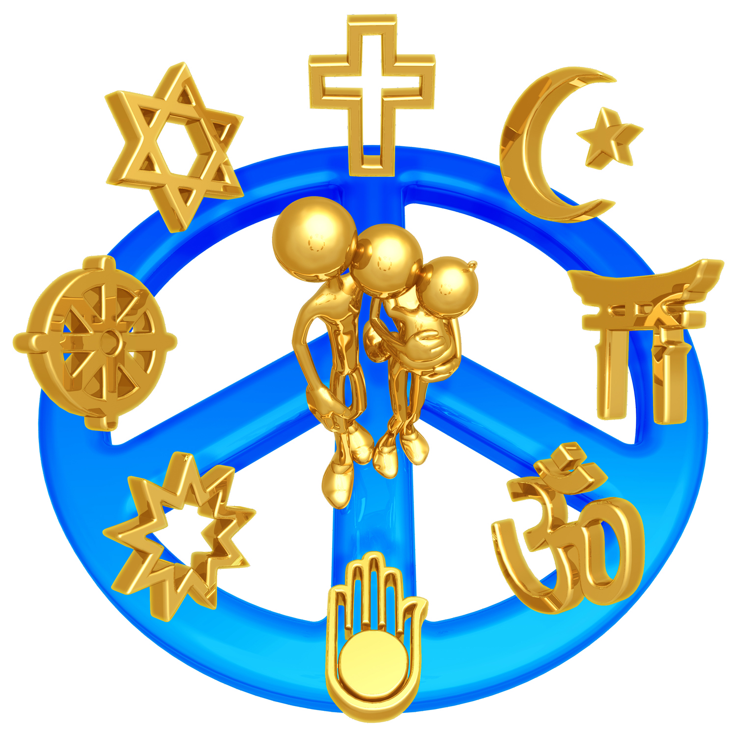 File:LuMaxArt Human Family with World Religions.png - PNG Religion