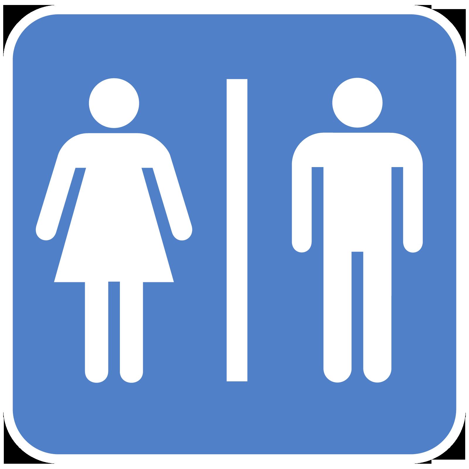 File:Bathroom-gender-sign.png - PNG Restroom