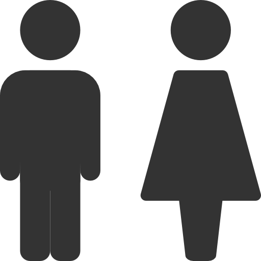 Free Icons Png:Men, Women, Toilet, Restroom Icon - PNG Restroom