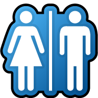 Free Icons Png:Restroom Png Icon - PNG Restroom