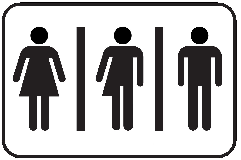 Mens Bathroom Sign #2253106 - PNG Restroom