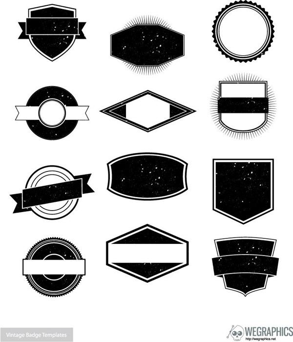 Creative retro black and whit