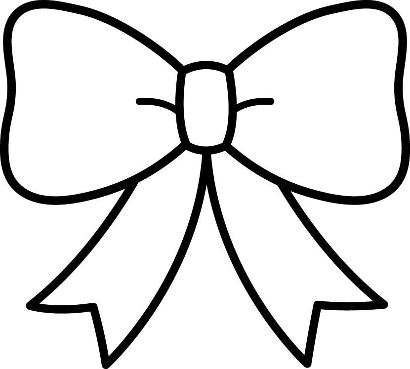 PNG Ribbon Black And White - 70453