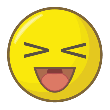 sticker smiley rire - PNG Rire