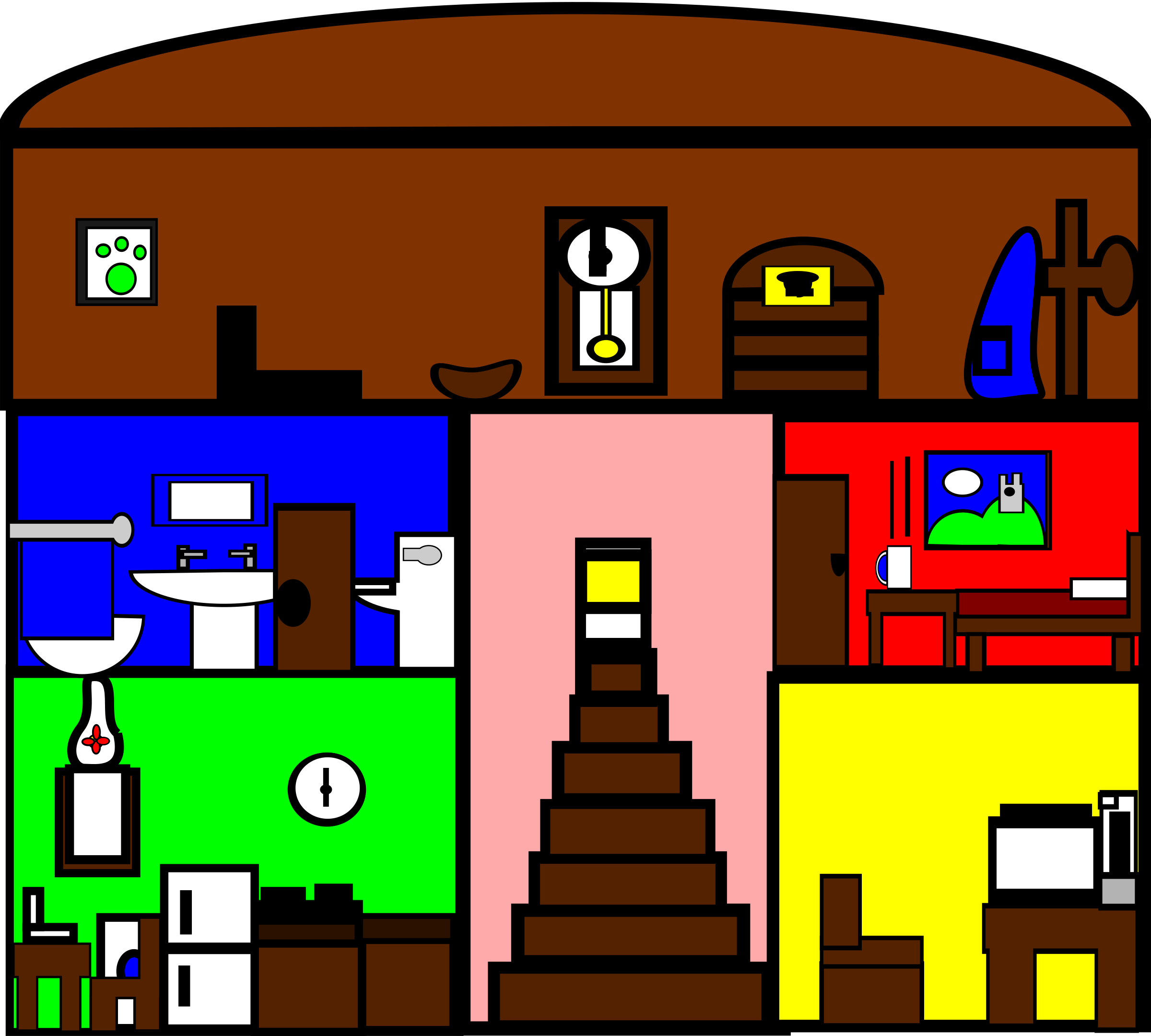 PNG Rooms Of The House - 71106