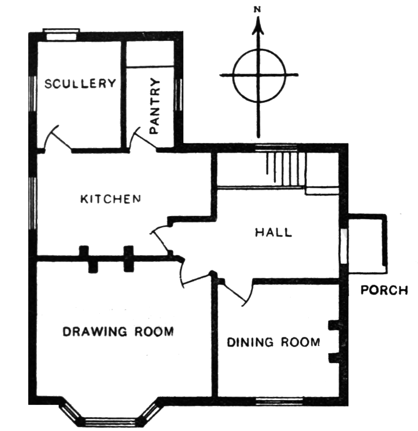 File:Ewe d020 house plan with two of the most important rooms.png - PNG Rooms Of The House