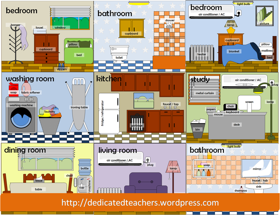 PNG Rooms Of The House - 71104