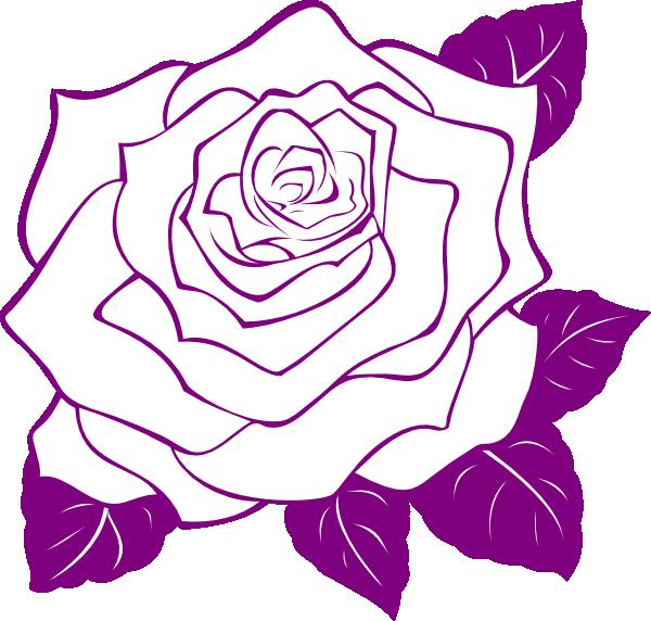 PNG Rose Outline - 75369