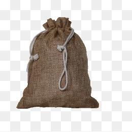 sack, Brown, Bag, Rope PNG Im