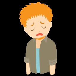 PNG Sad Boy - 70887