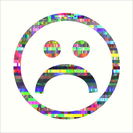 Sad Boy Glitch - PNG Sad Boy