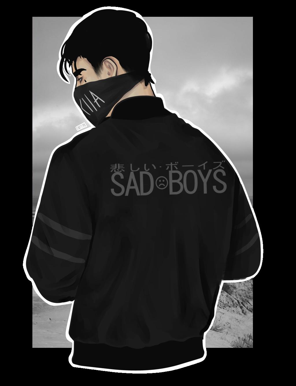 PNG Sad Boy - 70896