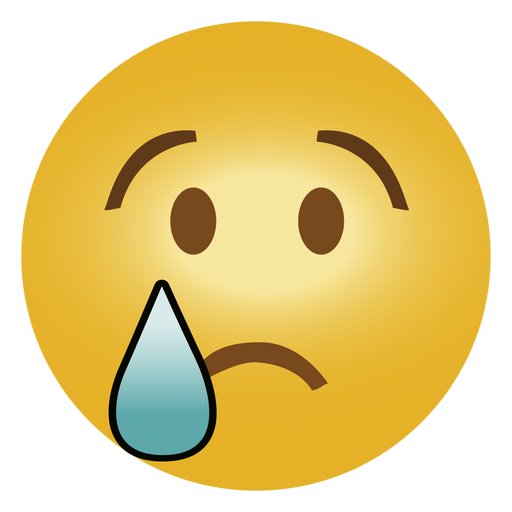 Emoticon emoji sad png - PNG Sad