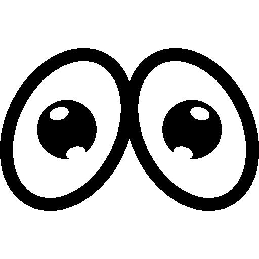 Cartoon sad eyes free icon - PNG Sad Eyes