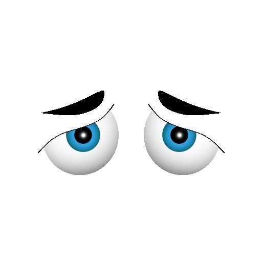 Sad Eyes Clipart 25 - PNG Sad Eyes