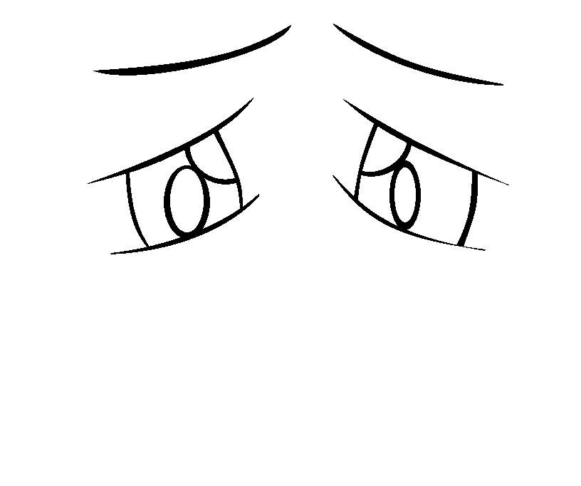 Sad Eyes Sketch by thatzeldaotaku PlusPng.com  - PNG Sad Eyes