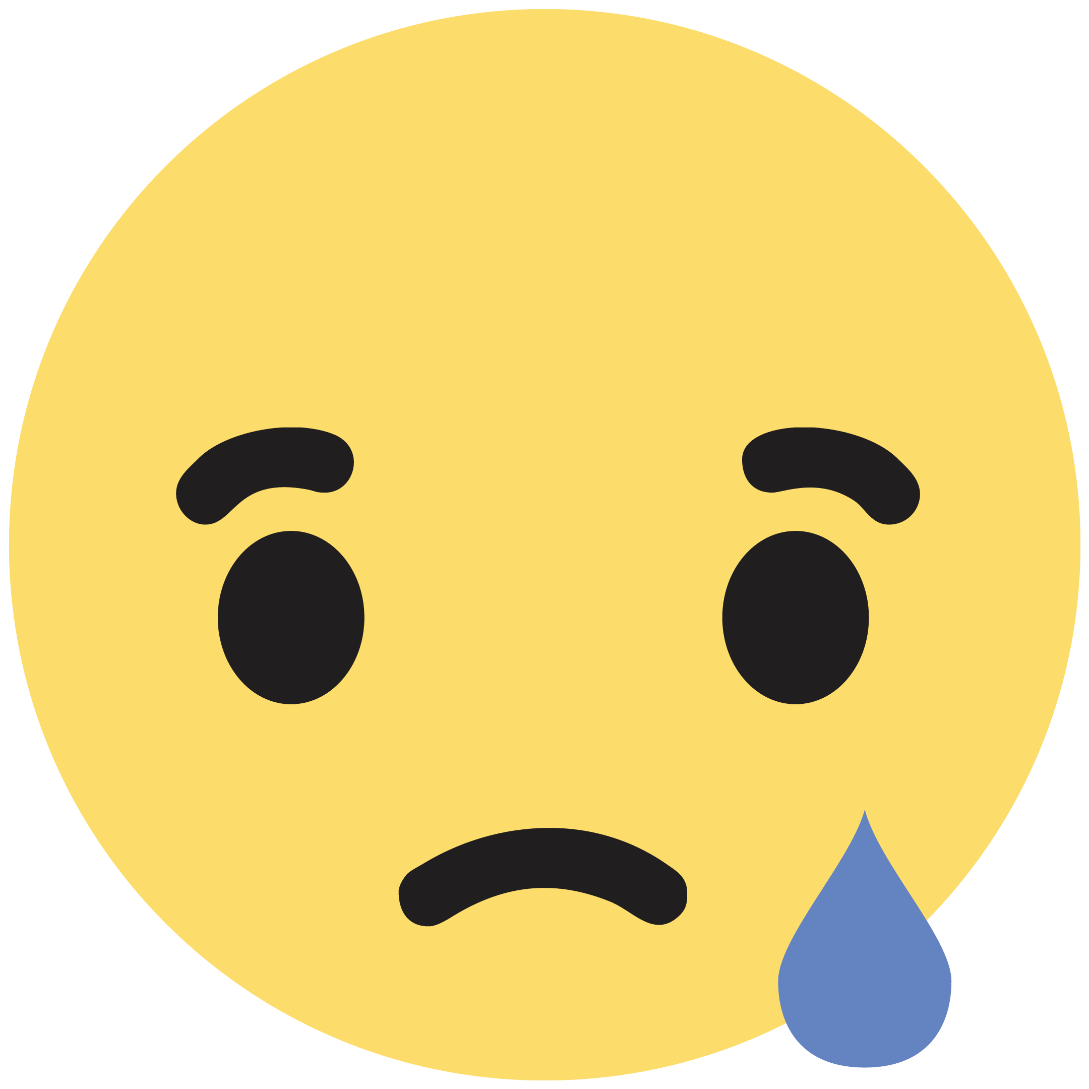 Facebook Sad - PNG Sad