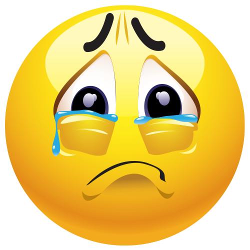 Sad Emoji PNG Clipart - PNG Sad