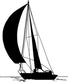 sail boat sihouettes | image sailboat-png - PNG Sailing