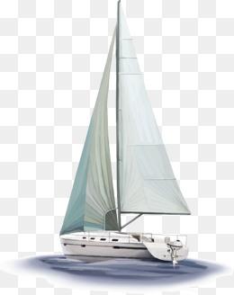 Sailing boat, Sailboat, Windsurfing, Sail PNG Image - PNG Sailing