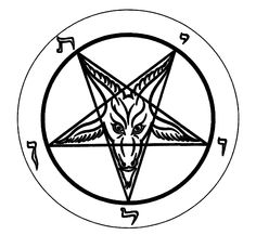 baphomet read and study, hell, evil, satan, hades gahenna - PNG Satan