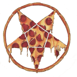 mine Cool edit pizza satan transparent pentagram hail satan - PNG Satan