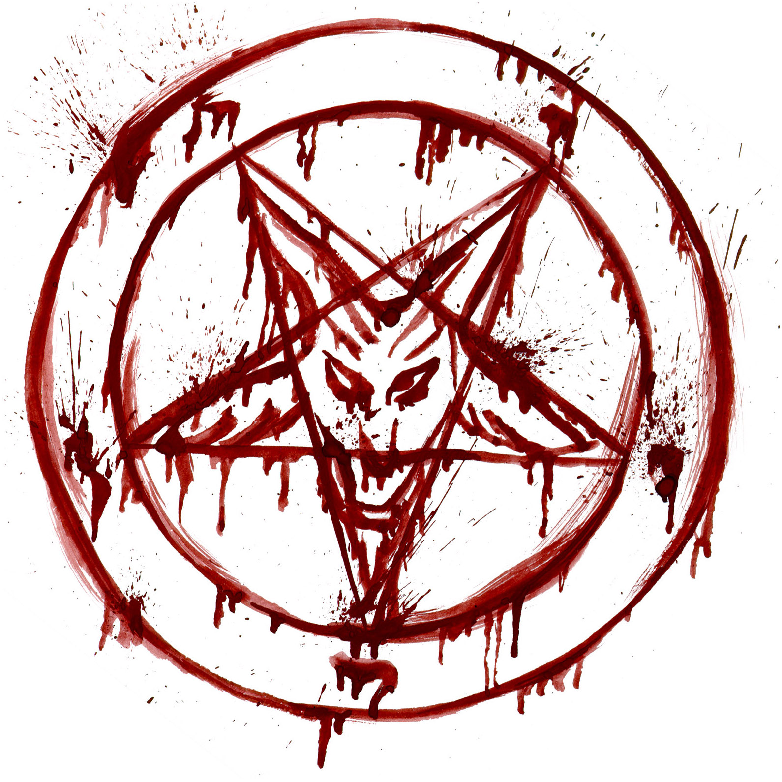 The Pentagram - With two points of the star pointing up it repsresents  evil! | Pictures | Pinterest - PNG Satan