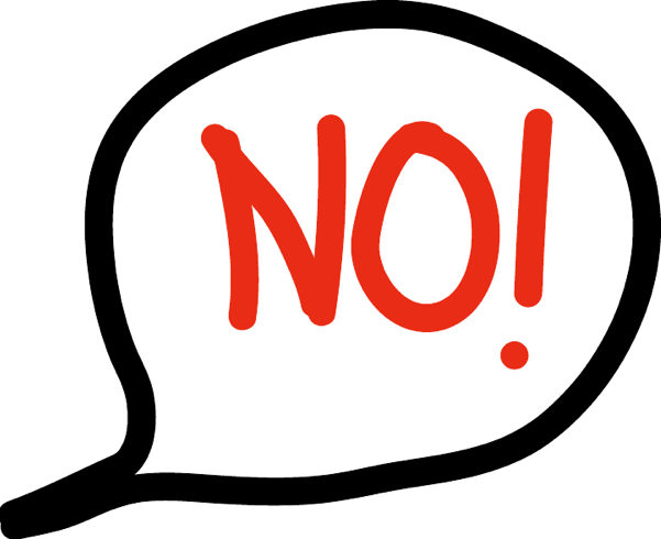 How good are you at saying NO? - PNG Saying No