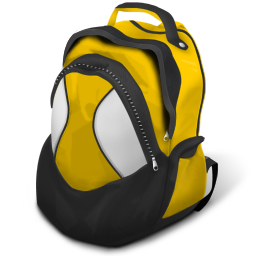 128x128 px, Schoolbag Icon 256x256 png - PNG School Bag