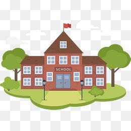 School building model, Vector Png, School, School Buildings PNG and Vector - PNG School Building