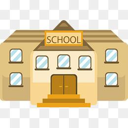 School building. PNG EPS - PNG School Building