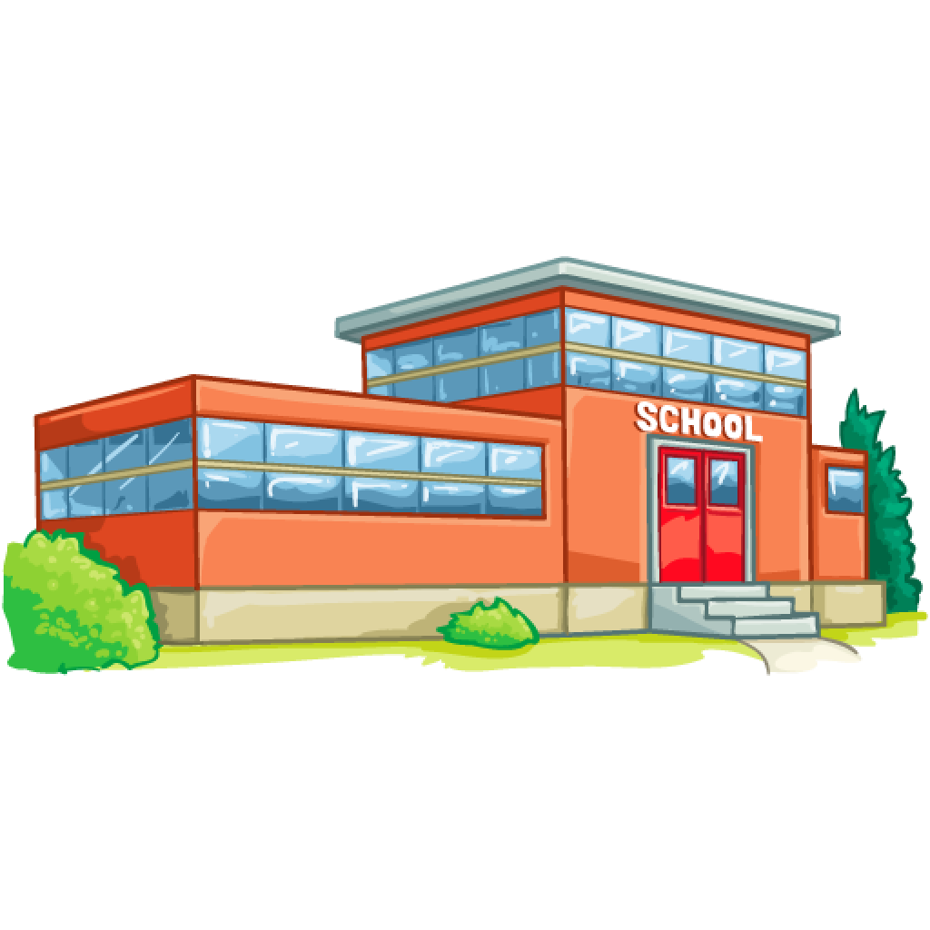 . PlusPng.com School Building School Building - PNG School Building