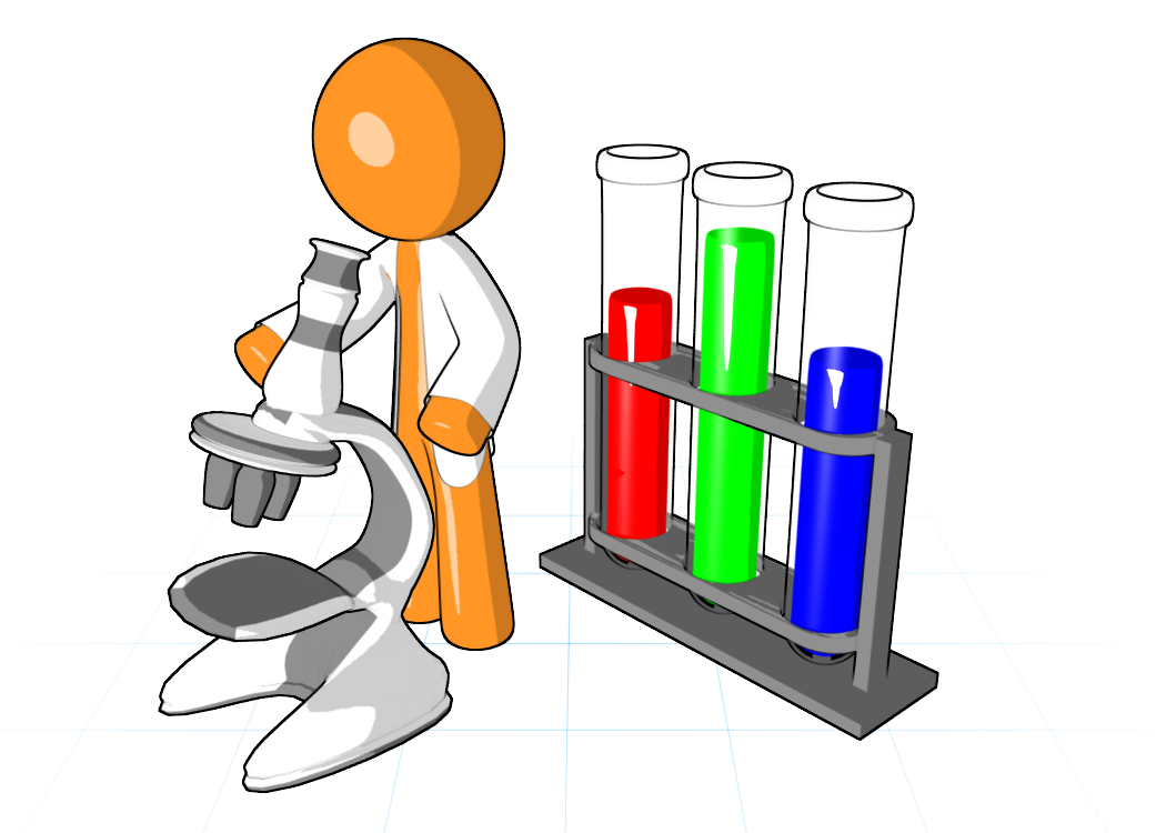 Science Experiment Clipart - PNG Science Experiment